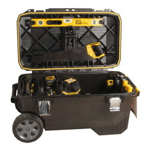 Šrankių dėžė su ratukais FM 30GL/113L, Stanley