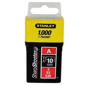 """Klambrid 10mm/3/8""""/L/D tüüp A 1000tk, Stanley"""