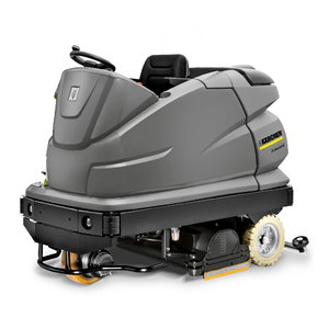 Sėdima grindų plovimo mašina B 250 R Bp Pack, Kärcher