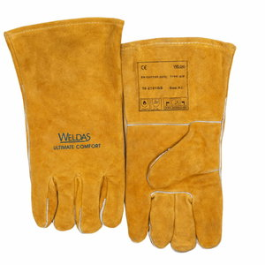 Welders gloves cow shoulder split leather universal, Weldas