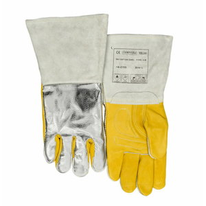 Aluminized heat reflective all purpose welding glove L, Weldas