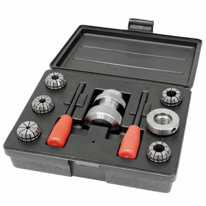 Collet chuck system for woodturning lathes M 24 / M 33, 6 pc