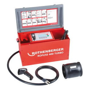 Cauruļu elektrokausēšanas iekārta ROWELD ROFUSE 400TURBO 400 TURBO, Rothenberger