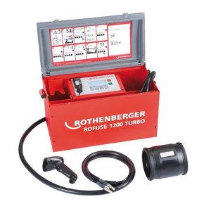Cauruļu elektrokausēšanas iekārta ROWELD ROFUSE 1200 TURBO, Rothenberger