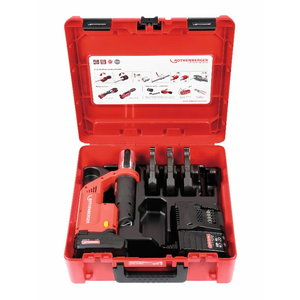 Akumulatora cauruļu prese ROMAX Compact TT M15-22-28 mm CAS, Rothenberger