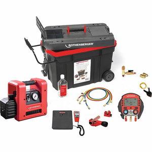 ROCADDY 120 R32 DIGITAL kliima ärastus ja täitekomplekt, Rothenberger