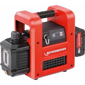Battery evac. pump for clima ROAIRVAC R32 2.0 CL, carcas CAS, Rothenberger