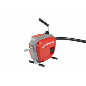 Akumulatora cauruļu tīrīšanas iekārta R600VarioClean,karkass CAS, Rothenberger