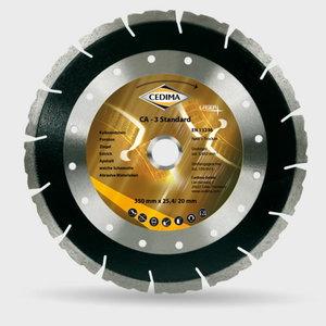 CA-3 Standart 3 dimanta disks asfaltam 350x25,4/20 mm, Cedima