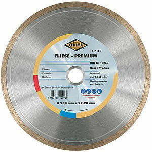 Deimantinis diskas  EC-110, Cedima