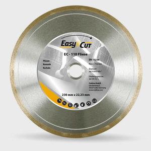 EC-110 dimanta disks 180/22,23mm flīzēm, Cedima