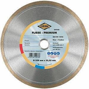 Diamond cutting disc 250 mm EC-110 FLIESE, Cedima