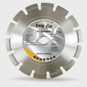 EC-31 dimanta disks asfaltam, 400/25,4 mm 7-1742, Cedima