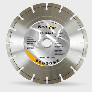 EC-21 dimanta disks betonam, 150/22,23 mm Gen. 2, Cedima