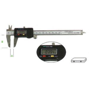 digital työntömitta 0-155 mm, Metrica
