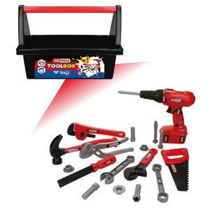 Laste tööriistakast koos tööriistadega, KS Tools