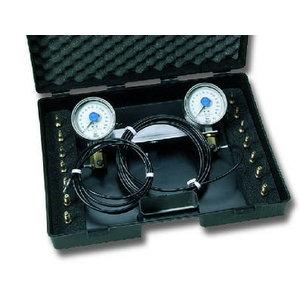 Brake pressure tester, gauge 0...160 bar and 0...250 bar, Leitenberger
