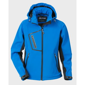 Sieviešu jaka ar kapuci 1445 zila, XL, Acode