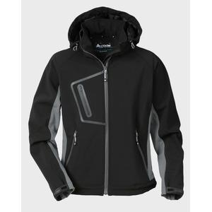 Sieviešu jaka ar kapuci 1445 melna, M, Acode