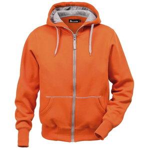 Džemperis su gobtuvu 1745 oranžinis 2XL