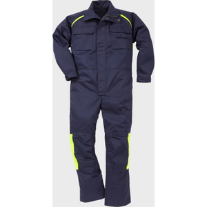 Flame welding coverall 8030 FLAM dark blue XL, Acode