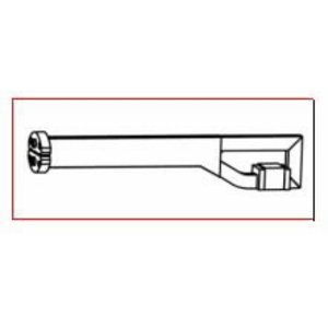 Straight Heating tip A800 L=200mm 90 degrees standard, Alesco