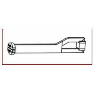 Kuumutusotsik sirge A800 L=200mm, Alesco
