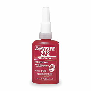 Threadlocker(high strength, 23Nm) LOCTITE 272 50ml, Loctite
