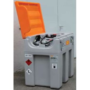 Mobile fuel tank system 600L Mobil Easy el.pump with cover, Cemo