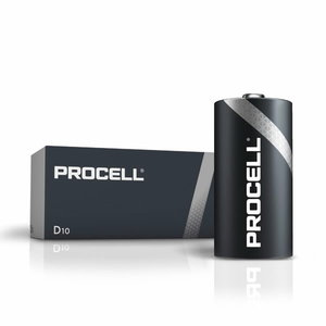 Patarei D/LR20, 1,5V, Duracell Procell, 10 tk.