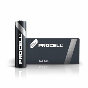 Battery AA/LR6, 1.5V, Duracell Procell, 10 pcs.