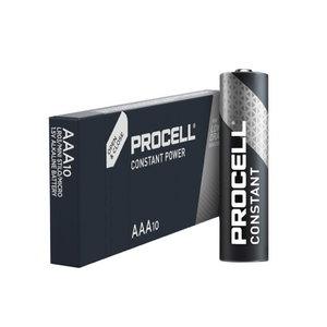 Baterijos AAA/LR03, 1,5V, Duracell Procell, 10 vnt.