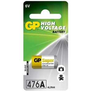 Battery 476A/4LR44, 6V, High Voltage Alkaline, 1 pcs., GP