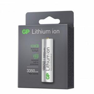 Battery 18650, 3,7V, 33500mAh, Li-Ion, 1 pcs., GP