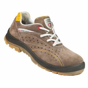 Safety shoes Rimini 03L Touring, beige, S1P SRC 42, Sixton Peak