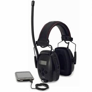 Apsauginės ausinės su integruotu radiju AM/FM