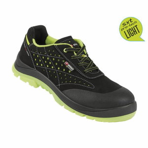 Safety shoes Capua 02 Touring black/yel S1 ESD SRC 37, Sixton Peak