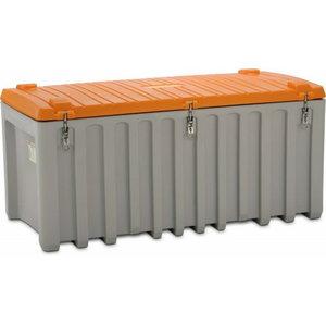 Įrankių dėžė 750L pilka/oranžinė, Cemo