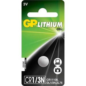 Baterijos CR1/3N, 3V, Lithium, 1 vnt., Gp