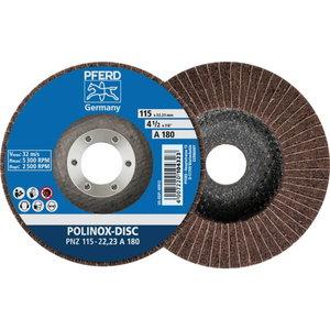 Šķiedras disks 125mm A100 PNZ POLINOX, Pferd