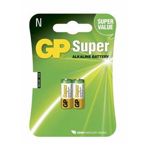 Battery N/LR1, 1.5V, Super Alkaline, 2pcs, GP