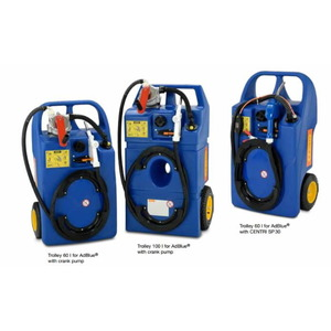 Mobil AdBlue tank 100l with battery and pump, Cemo
