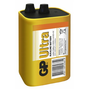 Battery 908AU/4LR25, 6V, Ultra, 1 pcs., GP