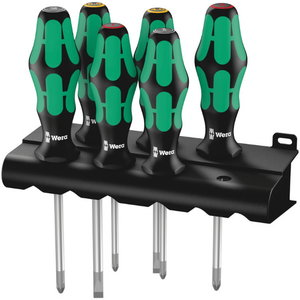 screwdriver set 6pc SlipStop, Wera