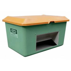 GRP Grit container Plus3 400 l, green/orange, Cemo