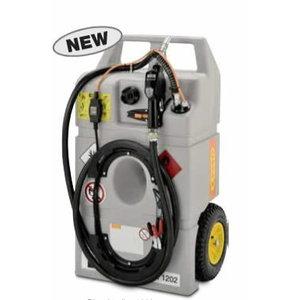 Mobiilne kütusemahuti Diesel Trolley 100L  El pump Li-Fe-PO4, Cemo