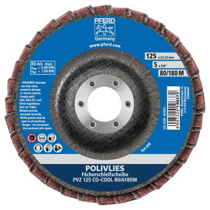Lamellketas 125mm CO-COOL 80/A180 M PVZ POLIVLIES, Pferd