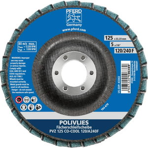 Lamellketas 125mm CO-COOL 120/A 240 F PVZ POLIVLIES, Pferd