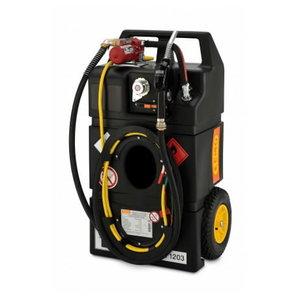 Mobil fuel tank Fuel trolley 95l, petrol el.pump, Cemo