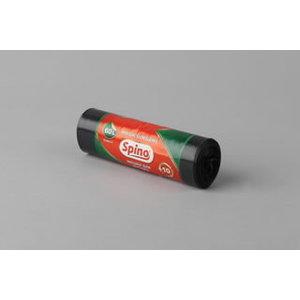 Atkritumu maisi 60L LD (600x860) 40my melni., Spino